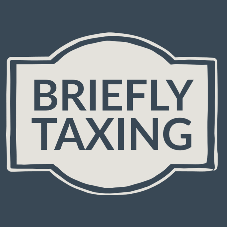 Briefly Taxing Logo
